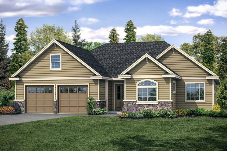 Traditional House Plan - Bramblewood 71560 - Front Exterior