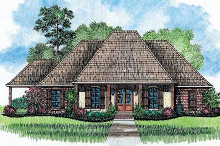 European House Plan - Fir 71616 - Front Exterior