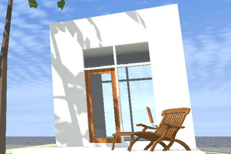 Modern  - Coconut 71739 - Front Exterior