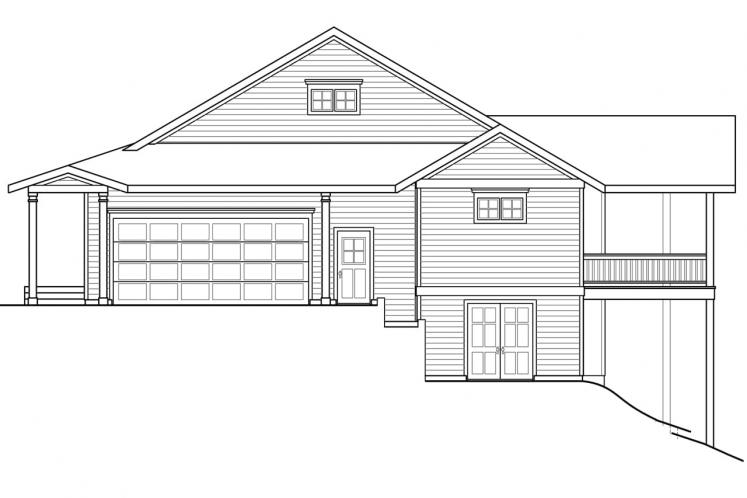 Country House Plan - Tumalo 72574 - Right Exterior