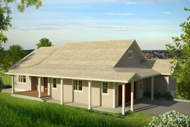 Country House Plan - Tumalo 72574 - Front Exterior