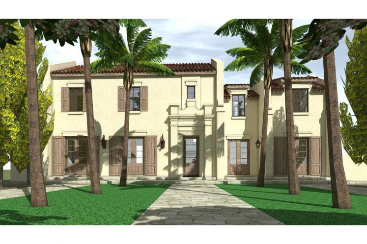 Spanish House Plan - Marie 73211 - Front Exterior