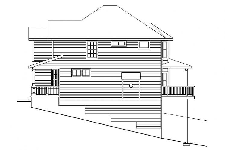 Traditional House Plan - Frederick 73254 - Right Exterior