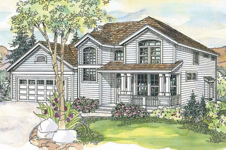 Country House Plan - Frederick 73254 - Front Exterior