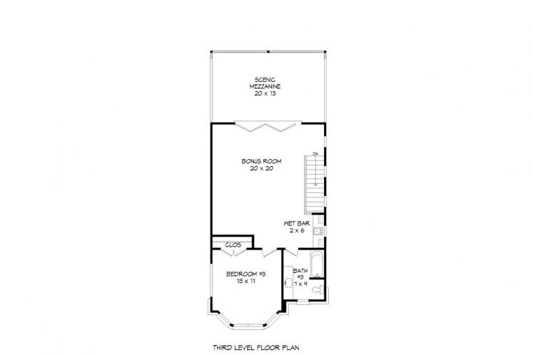 Traditional House Plan - Brownstone 73859 - Other Floor Plan