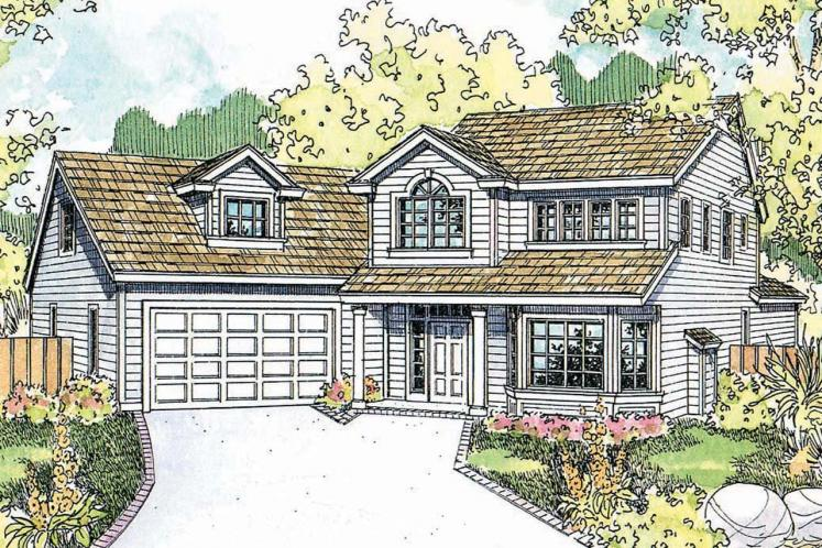 Country House Plan - Shaffer 73970 - Front Exterior