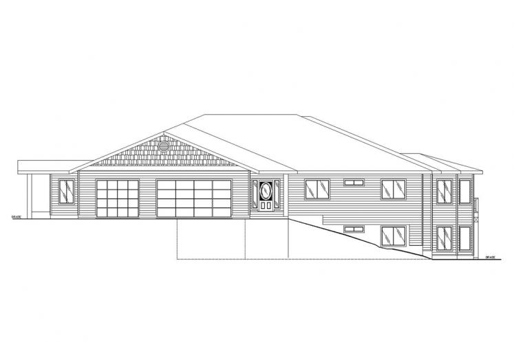 Craftsman House Plan -  74103 - Front Exterior