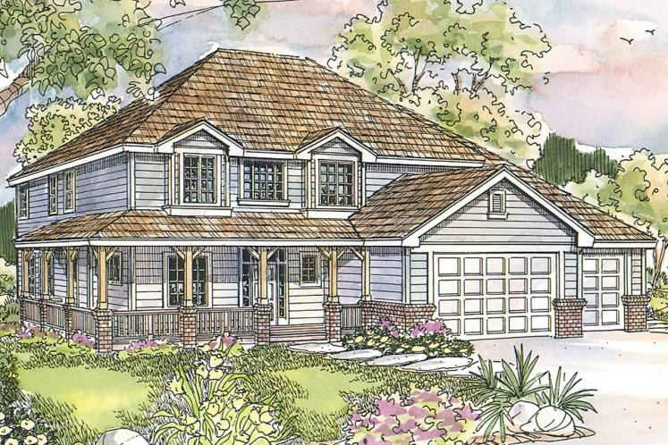 Country House Plan - Craigmont 74243 - Front Exterior