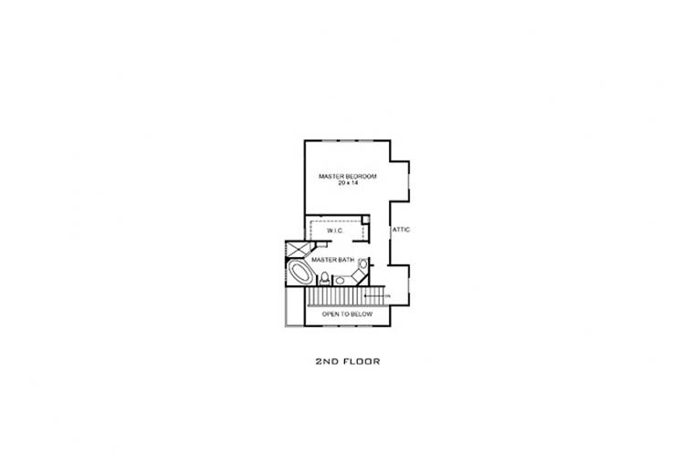 Country House Plan - Bandera 74270 - 2nd Floor Plan