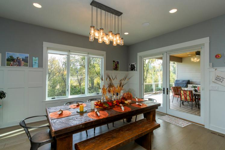 Bungalow House Plan -  74606 - Dining Room