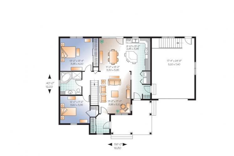 Country House Plan - Galerno 3 74962