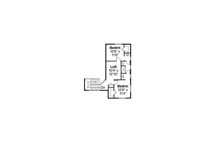 Prairie House Plan - Quail Ridge 75294 - 2nd Floor Plan