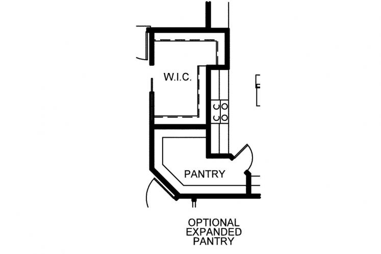 Country House Plan - Urlacher 75409 - Optional Floor Plan