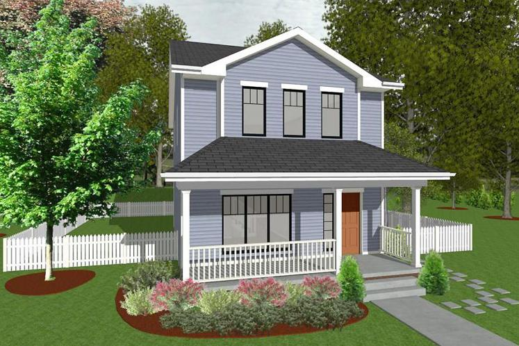 Traditional House Plan - Griffin 75429 - Front Exterior