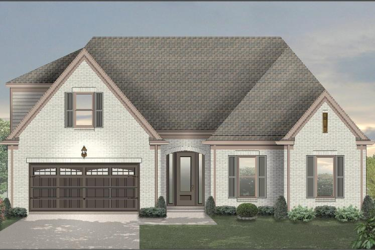 European House Plan -  75520 - Front Exterior