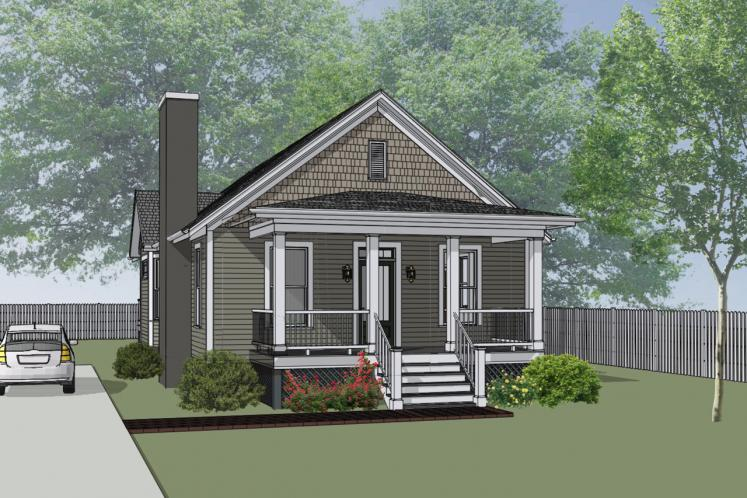 Country House Plan -  75727 - Front Exterior
