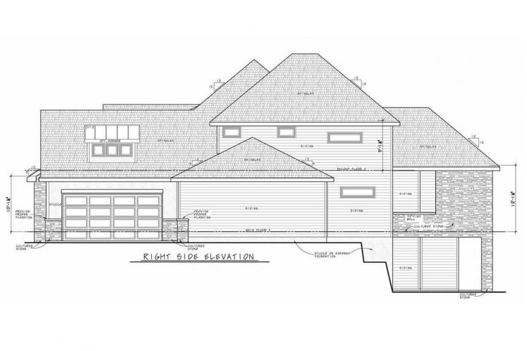 Farmhouse House Plan - Dandridge 75972 - Right Exterior