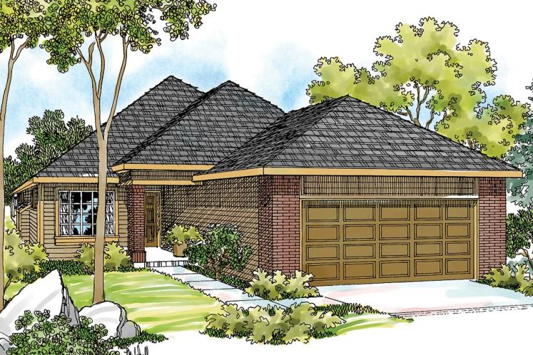 Traditional House Plan - Lorella 76100 - Front Exterior