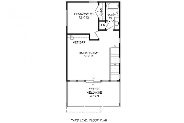 Contemporary House Plan - Shephard Deluxe II 76135 - Other Floor Plan