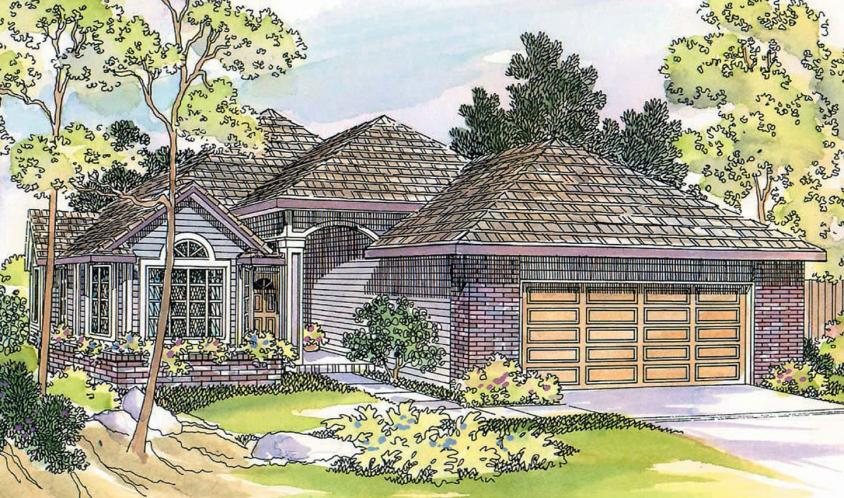Traditional House Plan - Lynden 76353 - Front Exterior