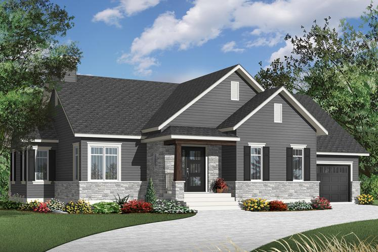 Country House Plan - Ashbury 2 76554 - Front Exterior