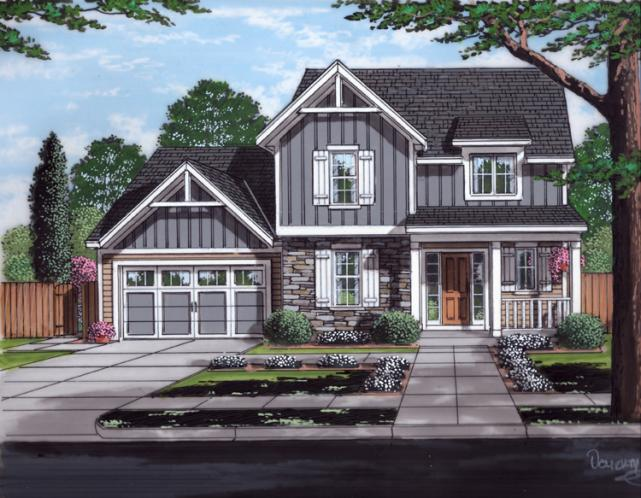 Craftsman House Plan - Woodstone 77269 - Front Exterior