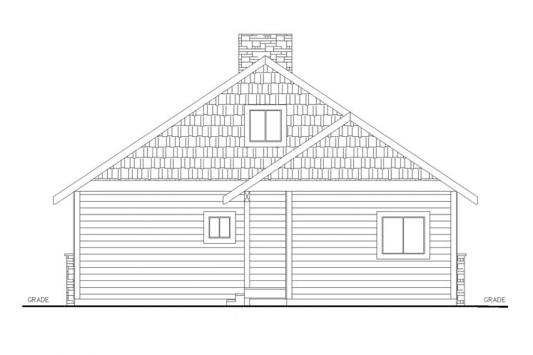 Traditional House Plan -  77305 - Front Exterior