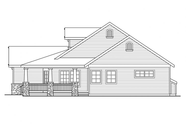 Country House Plan - Binghamton 77323 - Right Exterior