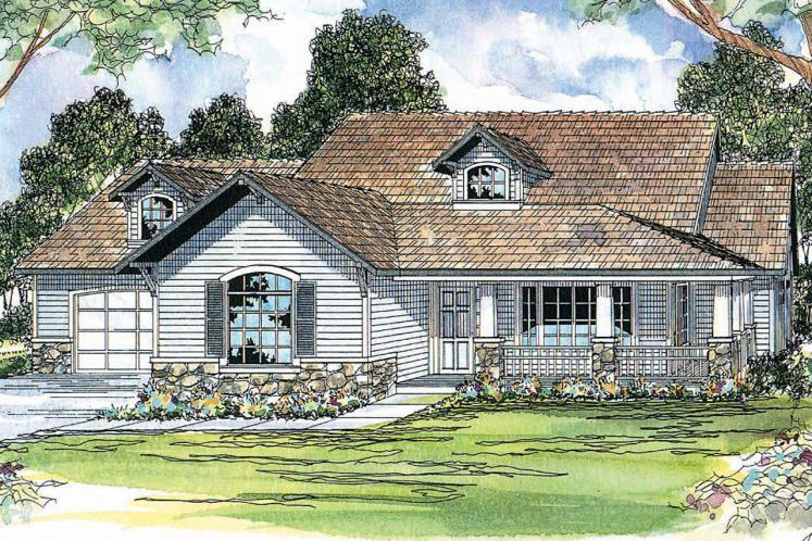 Country House Plan - Binghamton 77323 - Front Exterior