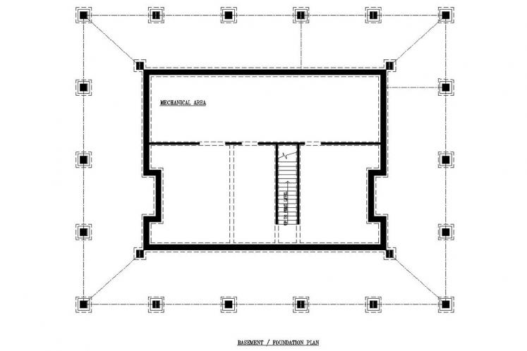 Cottage House Plan -  77929 - Basement Floor Plan
