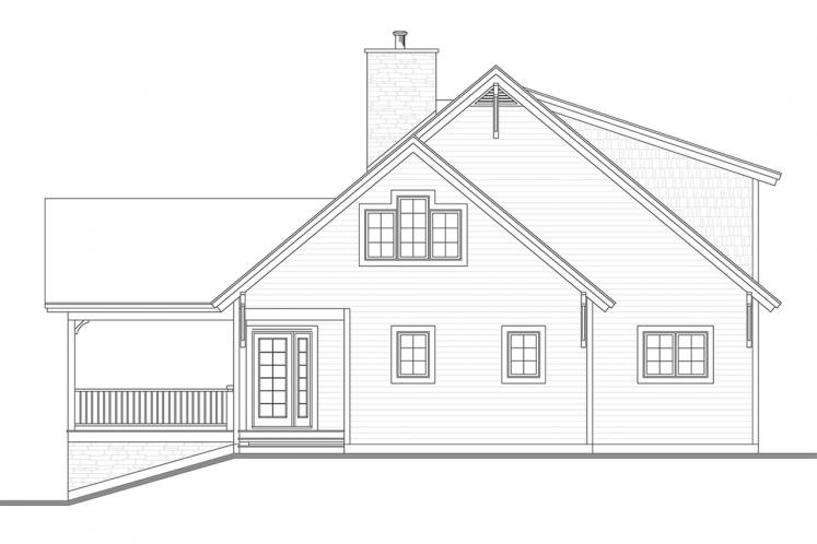 Country House Plan - Touchstone 4 78065 - Front Exterior