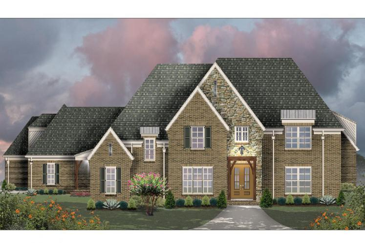 European House Plan -  78098 - Front Exterior