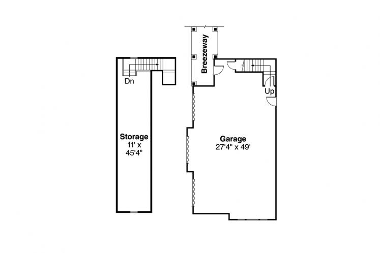 Lodge Style House Plan - Everheart 78331 - Other Floor Plan