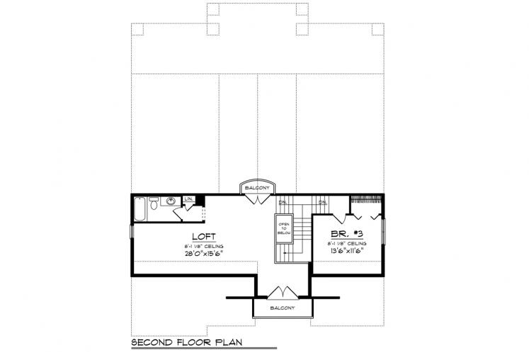 Craftsman House Plan -  78348 - Other Floor Plan