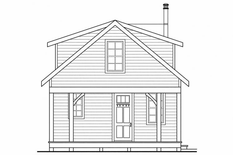 Country  - Guest Cottage 78401 - Left Exterior