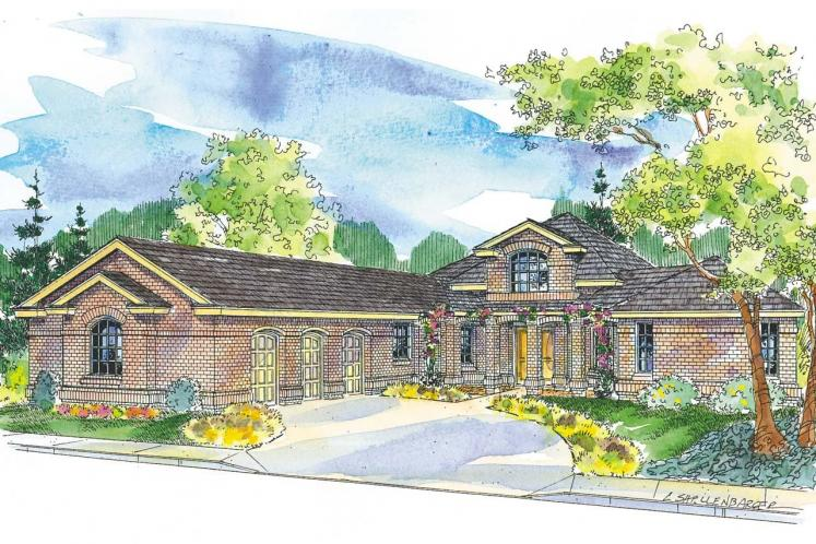 Southern House Plan - Beckwith 78663 - Front Exterior