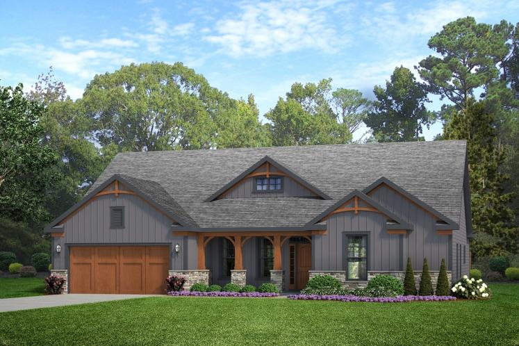 Cottage House Plan -  78881 - Front Exterior