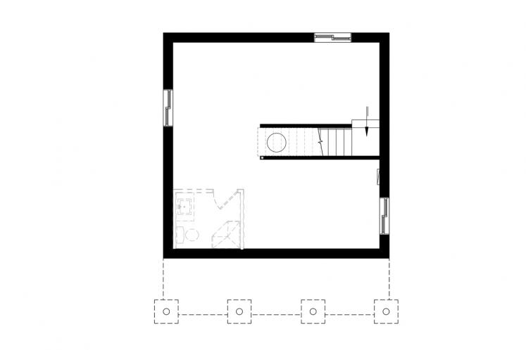 Country House Plan - Great Escape 2 79021 - Basement Floor Plan