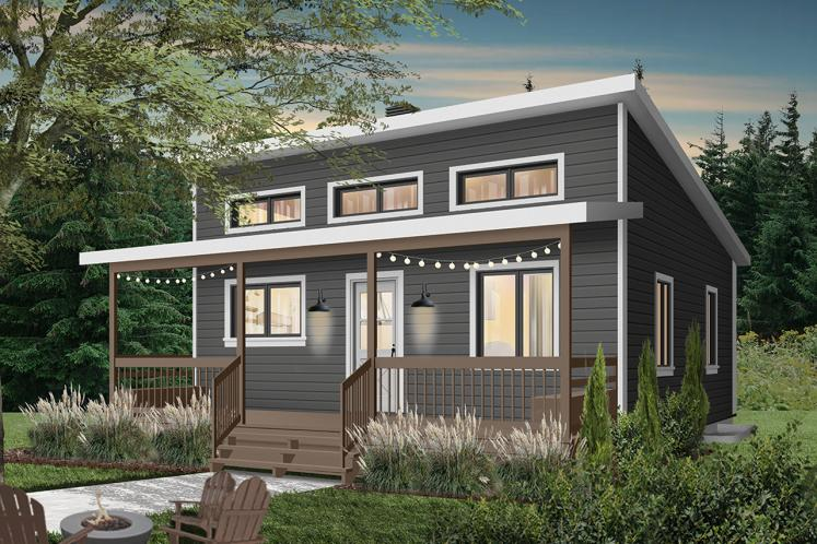 Cottage House Plan - Great Escape 2 79021 - Front Exterior