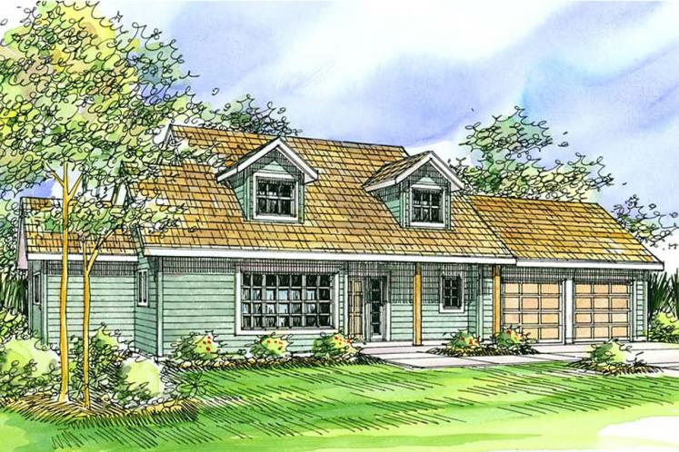 Country House Plan - Amsbury 79420 - Front Exterior