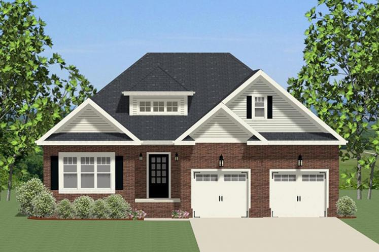 Ranch House Plan - Middleton 79524 - Front Exterior