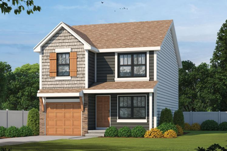 Country House Plan - Kershaw 79535 - Front Exterior