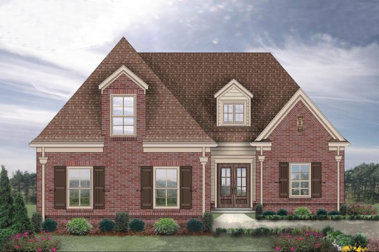 Traditional House Plan -  79570 - Front Exterior