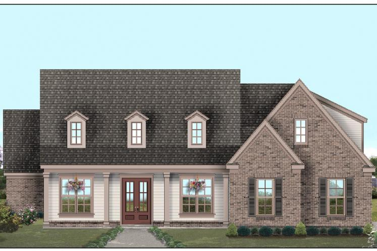 Country House Plan -  79805 - Front Exterior