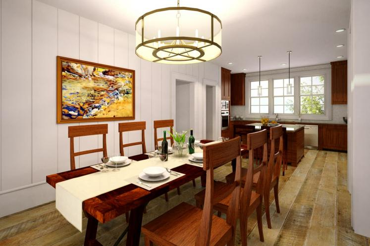 Country House Plan - Manor Heart 80138 - Dining Room