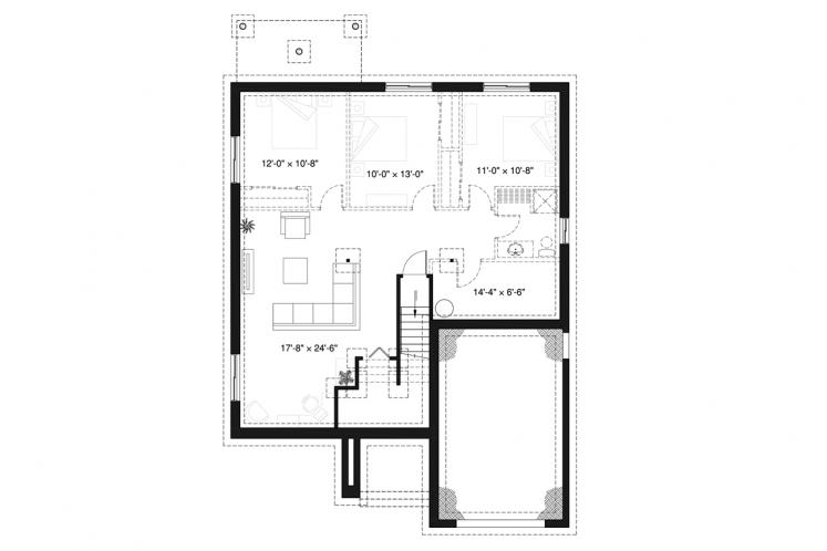 Country House Plan - Urban Valley 2 80235 - 2nd Floor Plan