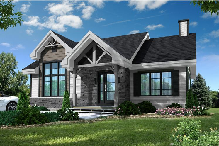 Country House Plan - Barrington 80299