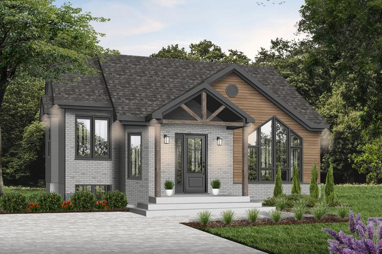 Cottage House Plan - Isaie 80324 - Front Exterior