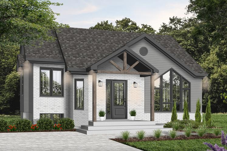 Country House Plan - Isaie 80324 - Front Exterior