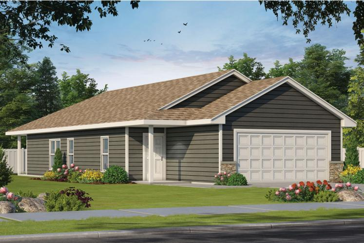 Traditional House Plan - Hillary Gable 80359 - Front Exterior